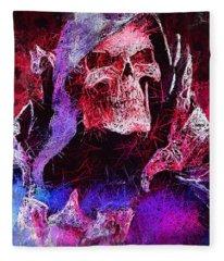 Skeletor Fleece Blanket