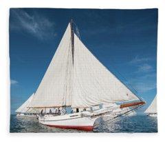 Skipjack Rosie Parks Fleece Blanket