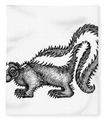 Skunk Fleece Blanket