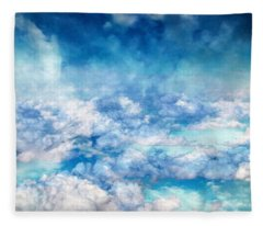 Sky Moods - A View From Above Fleece Blanket