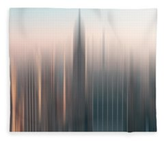 skyline I Fleece Blanket