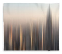 skyline II Fleece Blanket