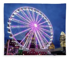 Skystar Ferris Wheel Fleece Blanket