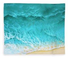Slow Rollers Fleece Blanket