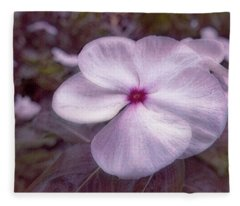 Small Flower Fleece Blanket