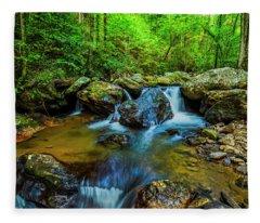 Smith Creek Cascade Fleece Blanket