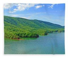 Smith Mountain Lake Fleece Blanket
