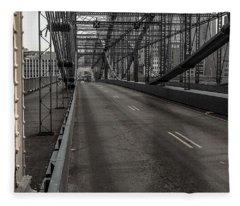 Smithfield Street Bridge Fleece Blanket