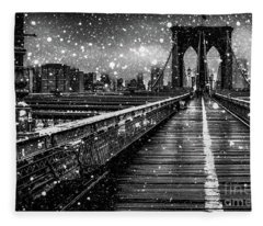 Snow Collection Set 05 Fleece Blanket