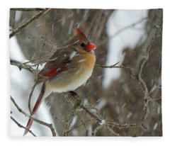 Snowbird Fleece Blanket