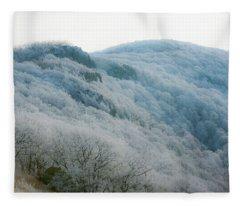 Soft Hoarfrost Fleece Blanket