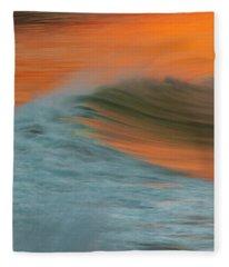 Soft Wave Fleece Blanket