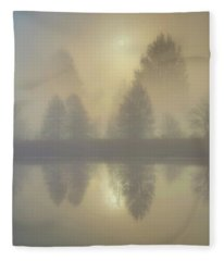 Softly Comes The Sun Fleece Blanket