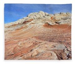 Solid Waves Pano Fleece Blanket