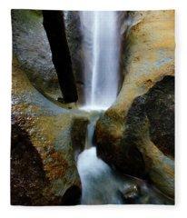 Sombrio Falls Vancouver Island Fleece Blanket