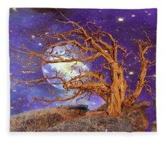Somewhere In The Universe Fleece Blanket
