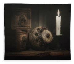Eye Ball Photographs Fleece Blankets