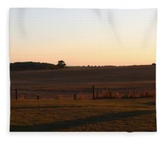 Somme Sunset Fleece Blanket
