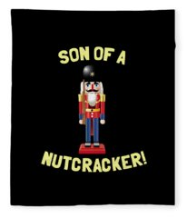 Son Of A Nutcracker Fleece Blanket