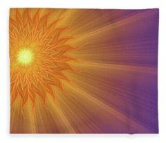 Song Of Solomon Fleece Blanket