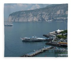 Sorrento Port Fleece Blanket