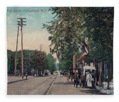 South Main Street Phillipsburg N J Fleece Blanket