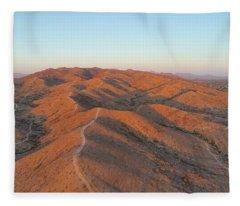 South Mountain Sunrise Fleece Blanket