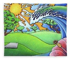 South Texas Disc Golf Fleece Blanket