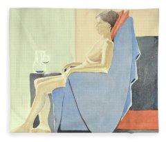 Sovande Sittande Sitting Asleep 2013 06 15-16_0091 4 Mb Up To 61x91 Cm  Fleece Blanket