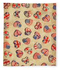 Sovereign State Sentiments Fleece Blanket