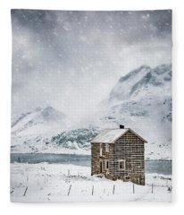 Spells Of Arctic Winters Fleece Blanket