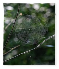Spider Web Fleece Blanket