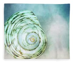 Spinning In The Clouds  Fleece Blanket