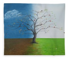 Spirit Of Eden Fleece Blanket