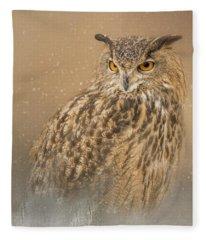 Spirit Of The Snow  Fleece Blanket