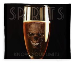Spirits - Know Your Limits Fleece Blanket
