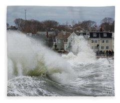 Splash Twirl Fleece Blanket