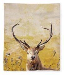 Fleece Blanket featuring the photograph Splendor In The Flowers by Andrea Kollo