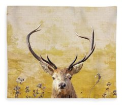 Splendor In The Flowers Fleece Blanket