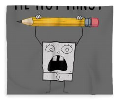 Spongebob Squarepants Doodlebob Me Hoy Minoy T-shirt Fleece Blanket