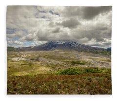 Spring At Mt. St. Helens Fleece Blanket