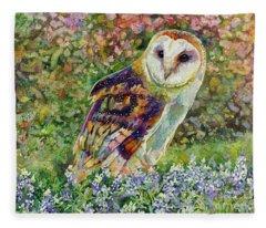 Spring Attraction Fleece Blanket