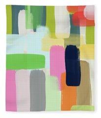 Spring Breeze- Art By Linda Woods Fleece Blanket