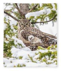 Spring Caregiver Fleece Blanket