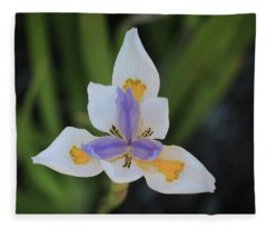 Spring Flower Fleece Blanket
