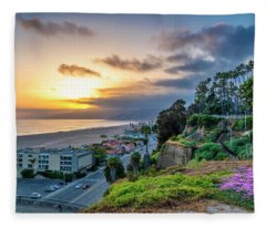 Spring In The Park On The Bluffs Fleece Blanket