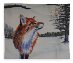 Spring Is In The Air Fleece Blanket