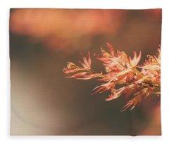 Spring Or Fall Fleece Blanket