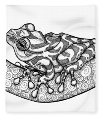 Spring Peeper Fleece Blanket