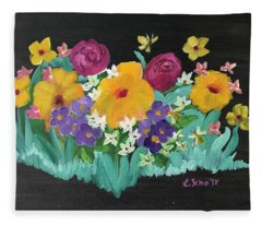 Spring Wishes Fleece Blanket